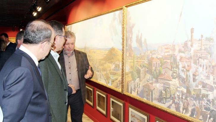 Rus ressamın gözünden resimlerle türkiye tarihi