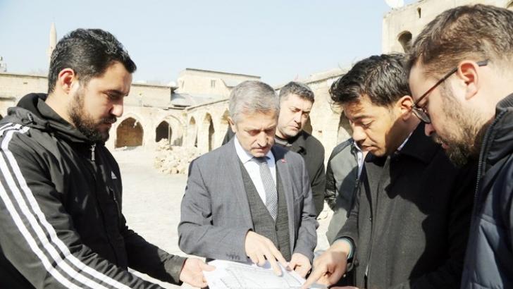"""Tahmazoğlu, """"Mecidiye Hanı Gaziantep'in kültürünü yansıtacak"""""""