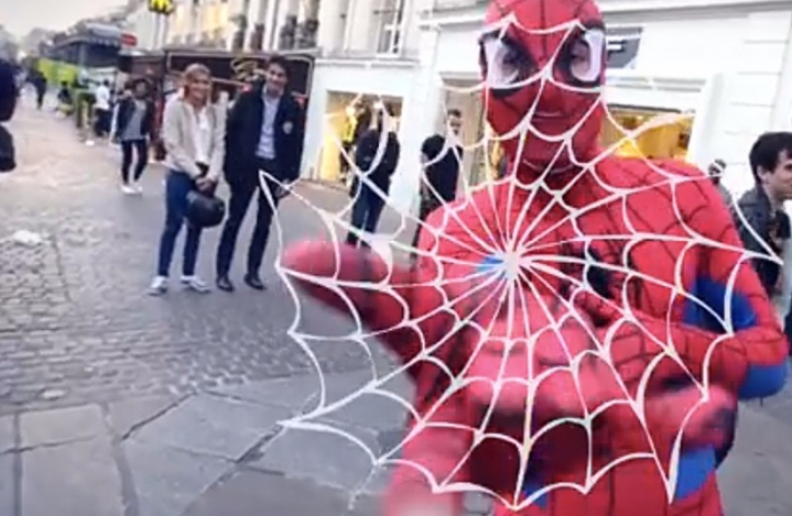 Spiderman Freestyle Futbol | New York Şehri