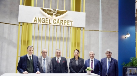 Fuara Angel Carpet ve Stefany Carpet damgası
