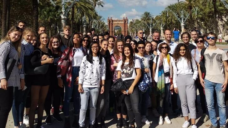 GAÜN'ün öğretim üyeleri AB Projesi için İspanya'da