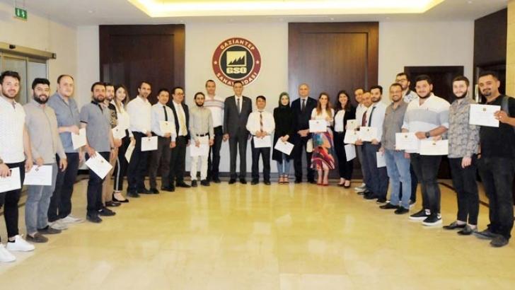 İhracat akademisi mezunlarına sertifika