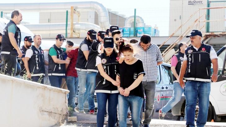 Gaziantep merkezli 6 ilde uyuşturucu operasyonu