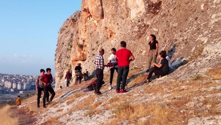 Şahinbey'de doğa ve spor bir arada