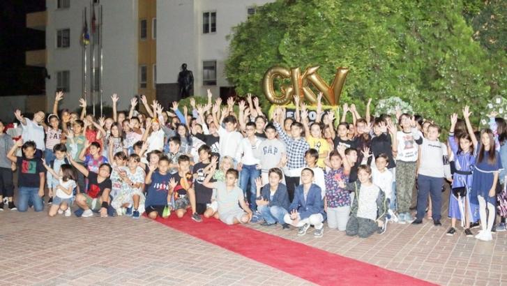 GKV'de okuluna hoş geldin partisi