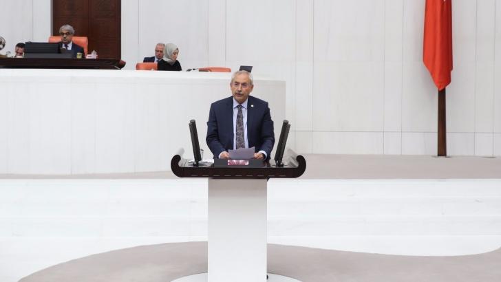 Kaplan, Gaziantep'in ulaşım sorununu meclise taşıdı
