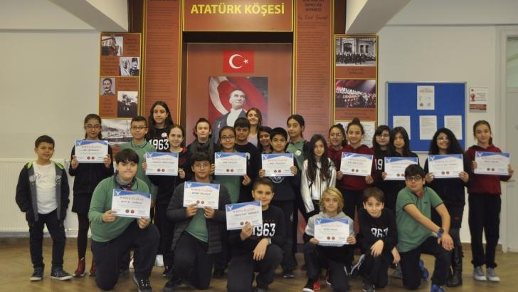 """GKV Özel Ortaokulunda """"Barış Elçileri"""" görev başında"""