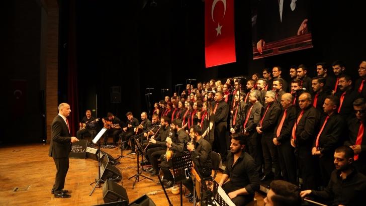 """BÜYÜKŞEHİR'DEN """"ANTEP'İN KURTULUŞU"""" TEMALI MÜZİK ŞÖLENİ"""