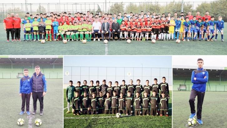 Futbol akademileri üretime devam ediyor
