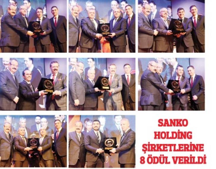 SANKO ödülleri topladı