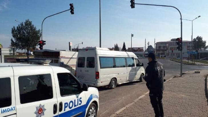 Nizip'te trafik denetimleri sürüyor