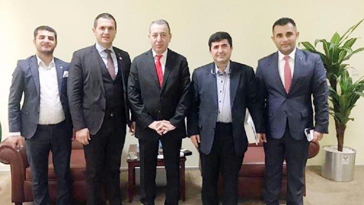 ANKA'dan Irak Devlet Bakanı Maruf'a ziyaret