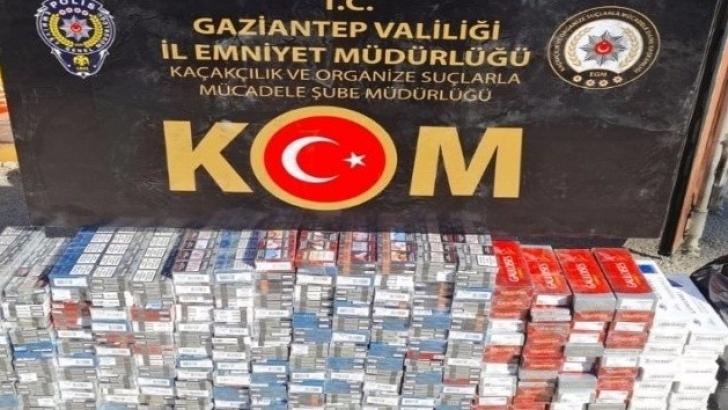 2 bin 700 paket kaçak sigara ele geçirildi