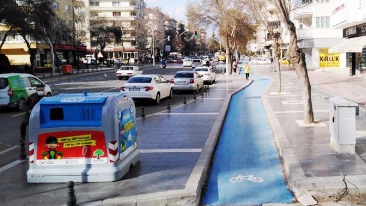 Bisiklet yollarının uzunluğu 28 kilometreyi aştı