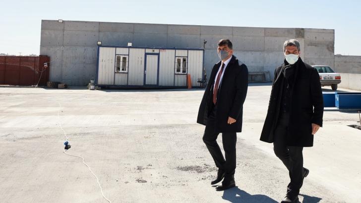 Şehitkamil Belediyesinden katı atık transfer istasyonu