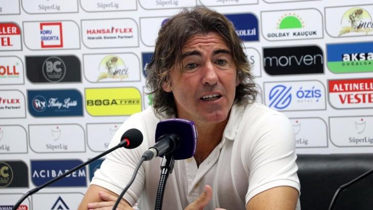 """Pinto: """"Bu galibiyeti oyuncularıma armağan ediyorum"""""""