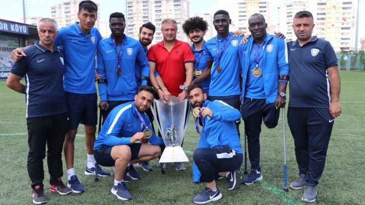 Şampiyonlar Ligi şampiyonu Şahinbey Ampute'nin başarı hikayesi