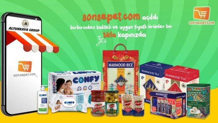 """Online alışveriş sitesi """"SonSepet"""" açıldı"""
