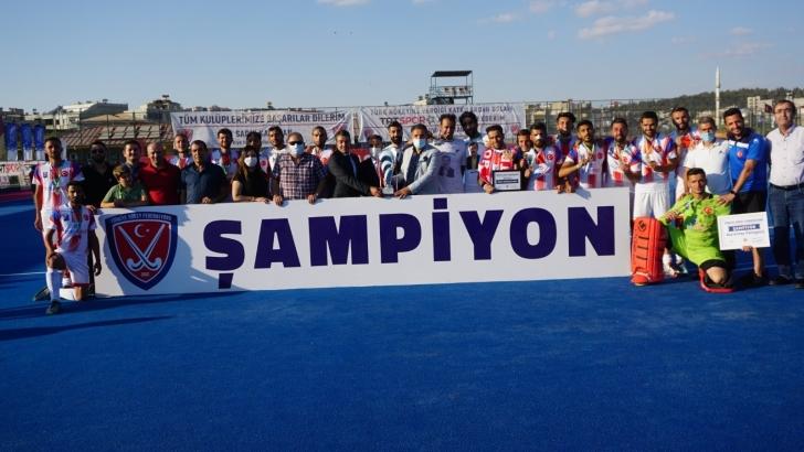 Gaziantep Polisgücü lig şampiyonu oldu