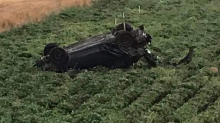 Gaziantep'te otomobil takla attı: 1 ölü