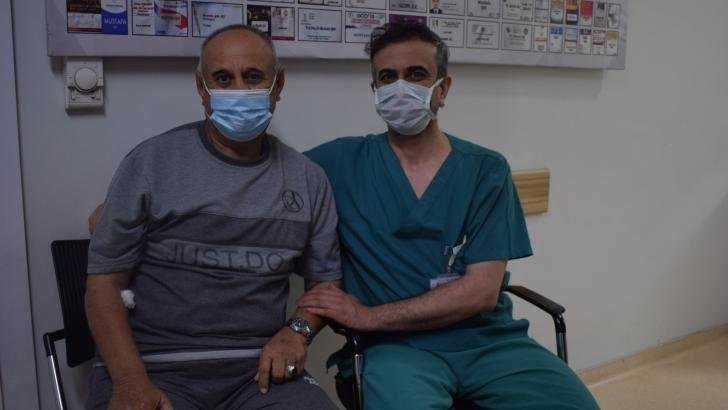 Iraklı hasta derdine dermanı Anka'da buldu